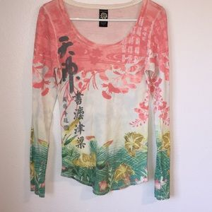 Lucky Brand Suitable for Framing Chinese Shirt